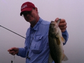 Jim with a nice Indian Lake bass