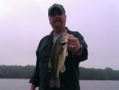 Ric with a nice bass caught at Indian Lake