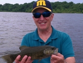 Dave with a nice Smallie - June 2013