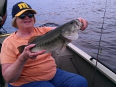 Gretchen - 4 1/2 lbs. Indian lake - June 2013