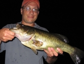 Jay with an Amos Lake Night Bass
