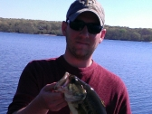 John at Watchaug Pond in May of 2013