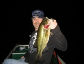 Curt with another big night bass