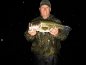 Bob with a big rainy night bass