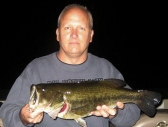 Bob with a big night bass!